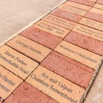 Special memorial bricks are available for placement around a gazebo at The Polidori House.